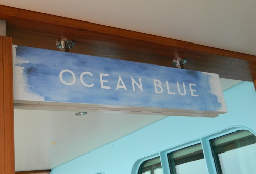 Ocean Blue Restaurant on Norwegian Breakaway