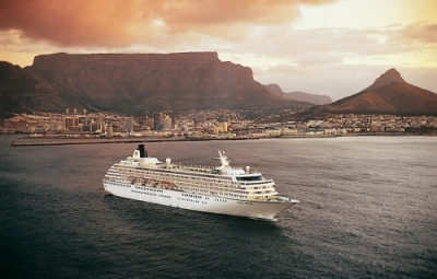 Crystal Symphony at Sea