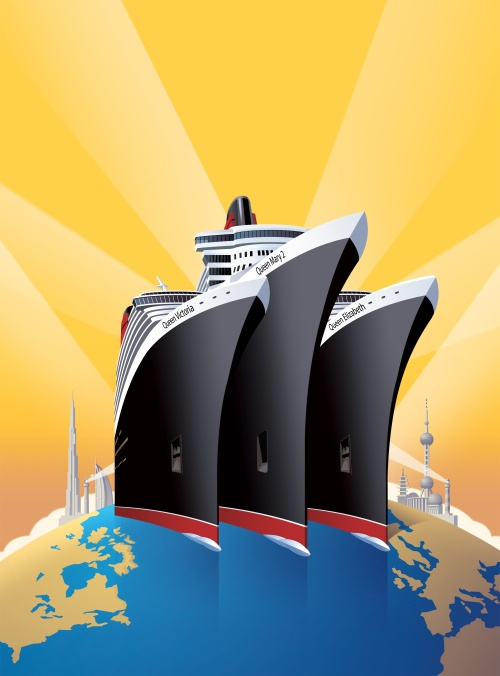 Cunard Line World Voyages