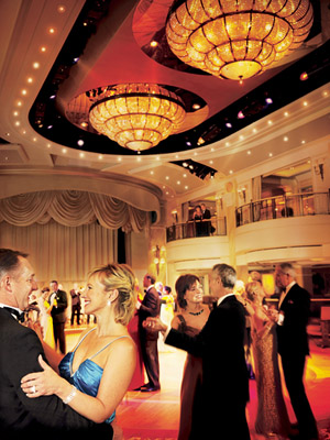 Passengers can still attend balls on Cunard's fleet. Photo courtesy of Cunard Line.