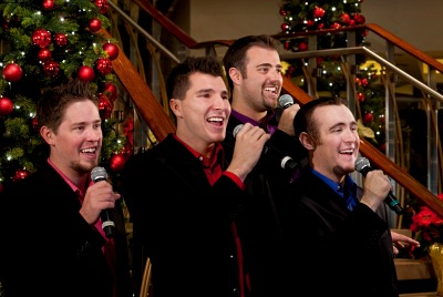 A Capella Singers on board Celebrity Solstice. Photo courtesy of Celebrity Cruises.