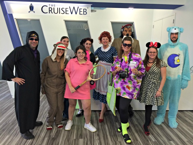 The Cruise Web's Halloween costumes