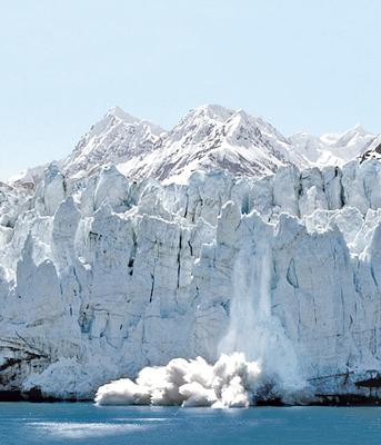 Glacier Bay, Alaska. Photo courtesy of Princess Cruises.