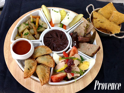 Provence Taste Plate - Photo courtesy of Oceania Cruises.
