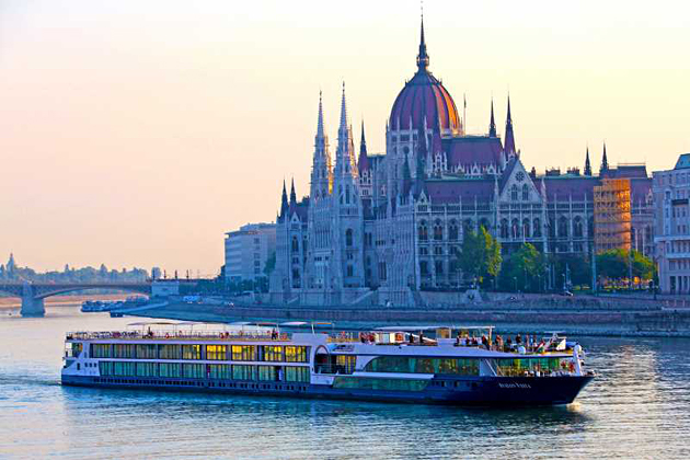 The Avalon Vista sails the Danube River. Photo courtesy of Avalon Waterways.