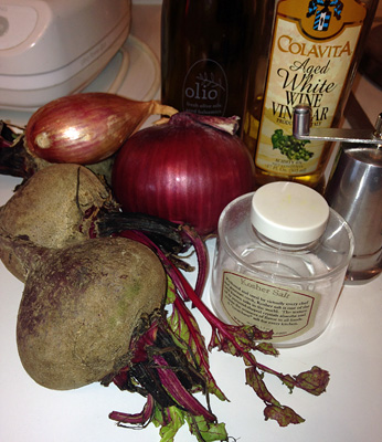 This is what a beet looks like.