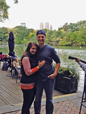 Alex and Katie in Central Park