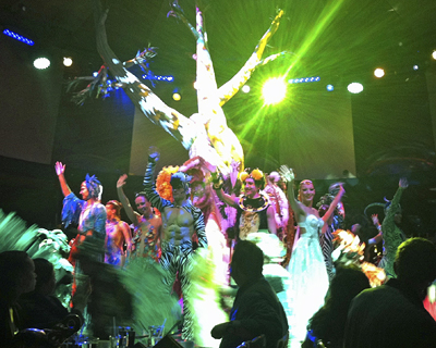 Cirque Dreams on the Norwegian Breakaway