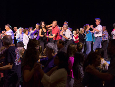 Dance classes are part of the Dancing with the Stars: At Sea program. Photo courtesy of Holland America.