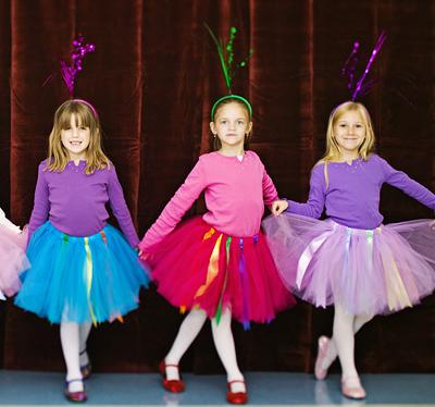 Kids have dancing activities too!