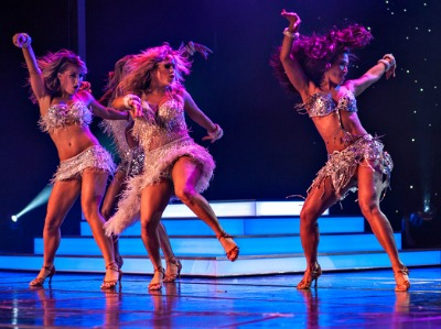 Dancing with the Stars: At Sea. Photo courtesy of Holland America Line.