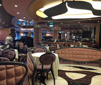 Dining Room on the MSC Divina.