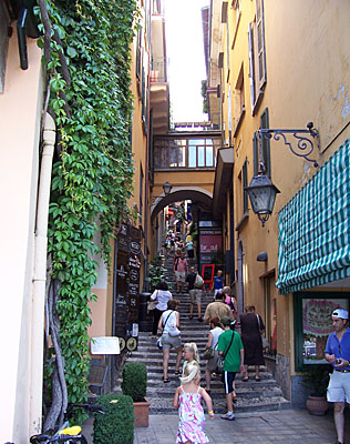 This is where Jen C. found her relative's shop in Italy.