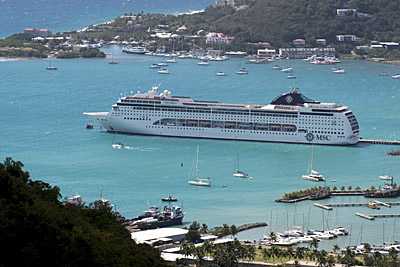 MSC Lirica. Photo courtesy of MSC Cruises.