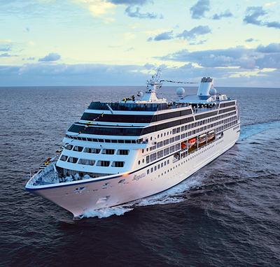 Oceania Regatta. Photo courtesy of Oceania Cruises.