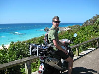 Seth cruises through Bermuda.
