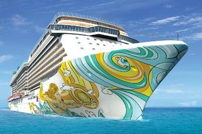 A rendering of the Getaway. Photo courtesy of Norwegian Cruise Line.