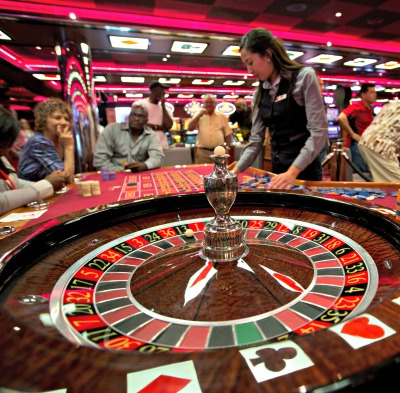 Roulette Table. Photo courtesy of Carnival Cruise Lines.