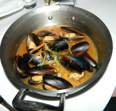 Mussels from Le Bistro.