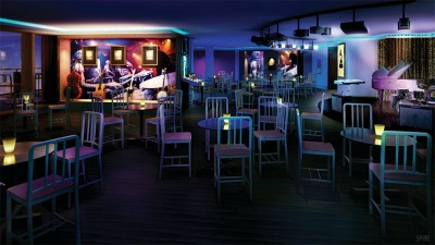 A rendering of The GRAMMY Experience at Sea venue on the Getaway. Photo courtesy of Norwegian Cruise Line.