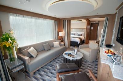 The Explorer Suite on a Viking Longship. Photo courtesy of Viking Cruises.