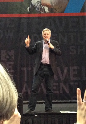 Rick Steves at the DC Travel & Adventure Show