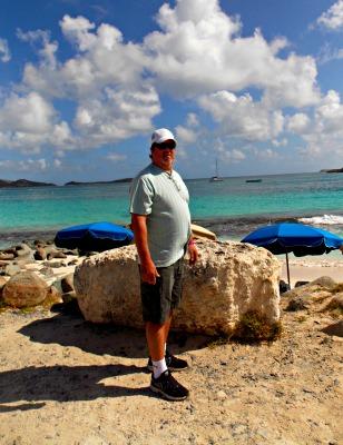 Dave at St. Maarten