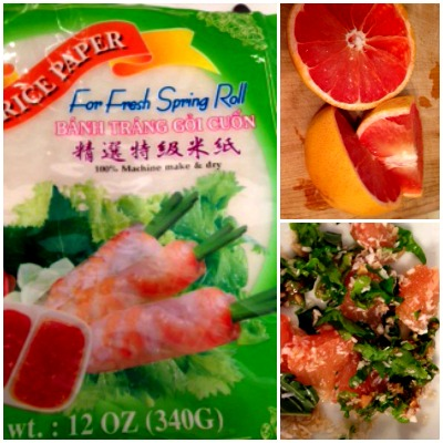 Ingredients to make Banh Trang