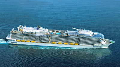 Rendering of the Quantum of the Seas. Photo Courtesy Royal Caribbean