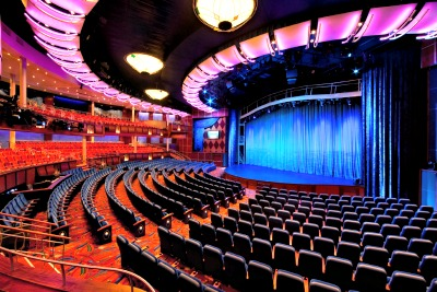 Opal Theater on the Oasis of the Seas. Photo courtesy of Royal Caribbean Cruise Line