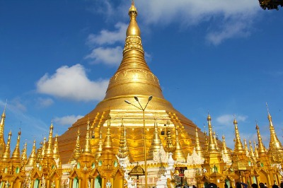 One of the many stunning temples in Myanmar