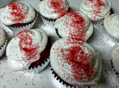 Royal Caribbean's Red Velvet Cupcakes