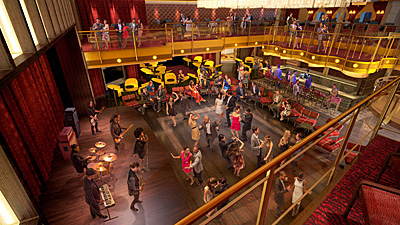 Music Hall. Photo courtesy of Royal Caribbean.
