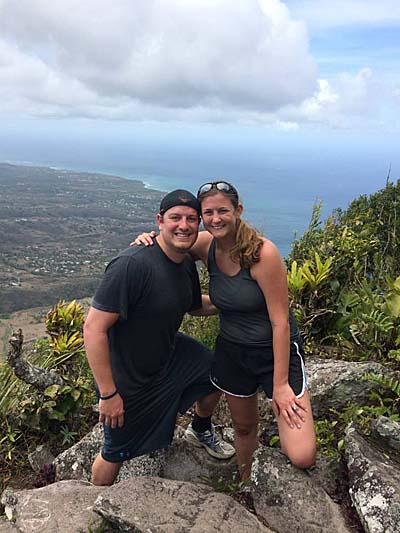 Climbing St. Lucia's Pitons