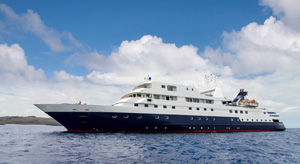 Celebrity Xpedition ship. Image courtesy of Celebrity Cruises.