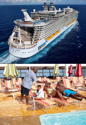 Royal Caribbean's Allure of the Seas. Courtesy of Royal Caribbean.