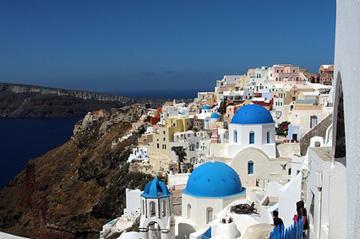 Cliffs of Santorini, Greece