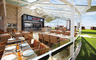Celebrity Cruises Lawn Club Grill - Courtesy of Celebrity Cruises