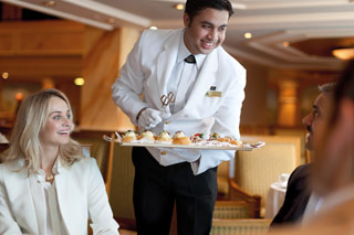 Cunard's Afternoon Tea - Courtesy of Cunard Line