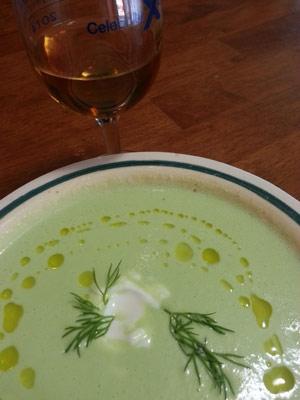 ... Celebrity Cruises' Chilled Cucumber Yogurt Soup | The Cruise Web Blog