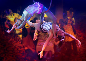 Cirque Dreams Dinner Theater - Courtesy of Norwegian Cruise Line
