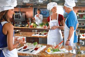 Oceania Cruises Bon Appetit Culinary Center - Courtesy of Oceania Cruises