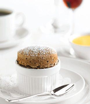 Chocolate Souffle - Courtesy of Princess Cruises