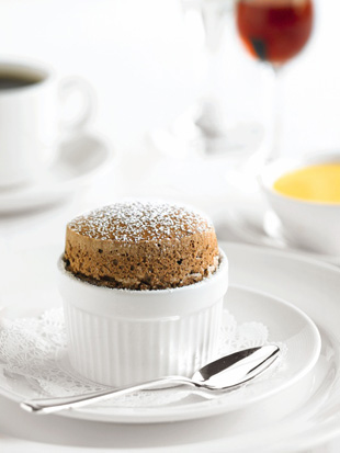 Chocolate Souffle - Courtesy of Princess Cruises