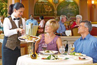 Princess Specialty Dining - Courtesy of Princess Cruises