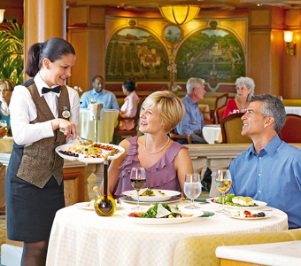 Princess Specialty Dining - Courtesy of Princess Cruises