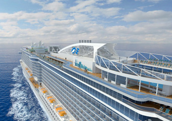 Regal Princess Aerial Rendering