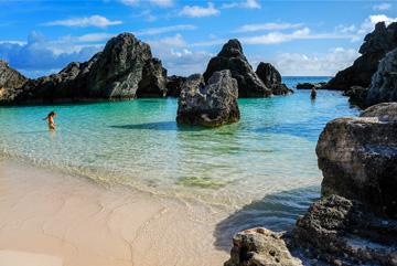 Secluded Bermuda Beach