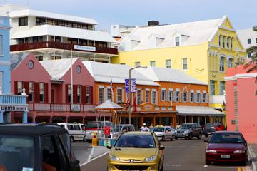 Downtown in Hamilton, Bermuda
