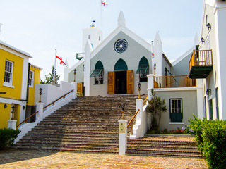 St. Peter's Anglican Church in St. George's, Bermuda
